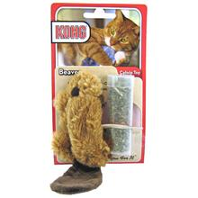 Kong Refillable Catnip Toy - Beaver