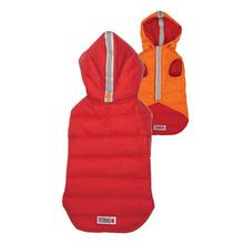 KONG Reversible Puffy Dog Vest - Red/Orange
