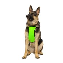 Kumfy Tailz Cools and Warms Mesh Dog Harness - Neon Yellow