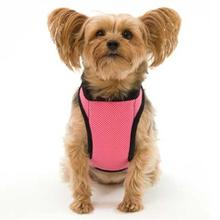 Kumfy Tailz Cools & Warms Mesh Dog Harness - Pink