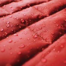 Kurgo Loft Reversible Dog Jacket - Chili Red and Dark Charcoal