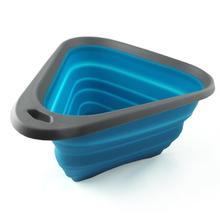 Kurgo Mash N Stash Collapsible Dog Bowl - Blue