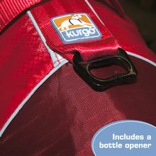 Kurgo Surf n Turf Dog Lifejacket - Solid Red