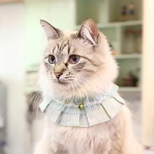 Lauren Cat Collar Scarf by Catspia - Blueish Green