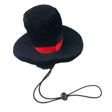 LED Christmas Dog Top Hat - Black