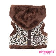 Leo Pug Pinka Dog Harness by Pinkaholic - Brown