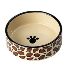 Leopard Buzz Dog Bowl