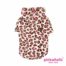 Leopup Hooded Dog Shirt by Pinkaholic - Pink