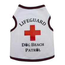 Lifeguard Dog Tank by I See Spot - White
