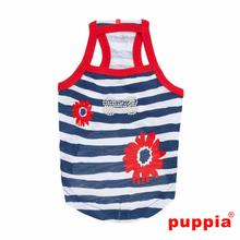 Little Artist Dog Tank by Puppia - Navy