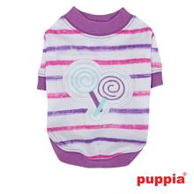 Lollipop Dog Shirt by Puppia - Purple