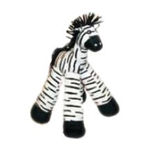 Long Legs Dog Toy - Zebra