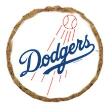 Los Angeles Dodgers Dog Treat Cookie