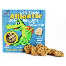 Louisiana Alligator Biscuits with Crawfish Dog Treat