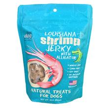 Louisiana Shrimp Jerky Dog Treat with Alligator