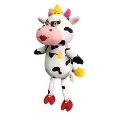 Lulubelles Power Plush Dog Toy- Bessie the Cow