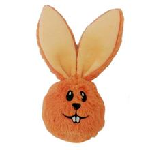 Lulubelles Power Plush Dust Bunny Dog Toy - Orange