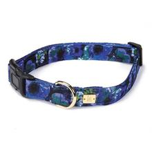 M. Isaac Mizrahi Floral Dot Collection Dog Collar