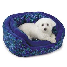 M. Isaac Mizrahi Floral Dot Nesting Dog Bed