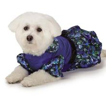 M. Isaac Mizrahi Floral Dot Party Dog Dress