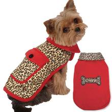 M. Isaac Mizrahi Leopard Reversible Dog Coat