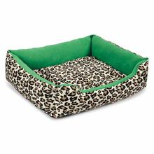 M. Isaac Mizrahi Luxe Leopard Collection Pet Bed