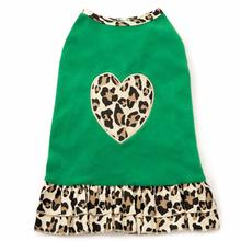 M. Isaac Mizrahi Luxe Leopard Dog Dress - Green