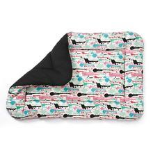 M. Isaac Mizrahi Paint Splatter Dog Mat