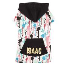 M. Isaac Mizrahi Paint Splatter Dog Pullover