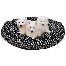 M. Isaac Mizrahi Painterly Logo Dog Bed