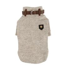 Maddox Dog Sweater by Puppia - Beige