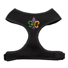 Mardi Gras Fleur de Lis Chipper Dog Harness
