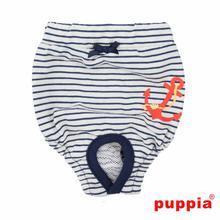Mariner Dog Sanitary Pants by Puppia - Navy