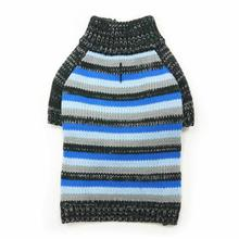 Marl Stripes Dog Sweater by Dogo - Blue