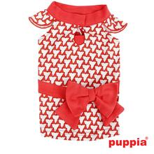 Martina Dog Dress by Puppia - Red