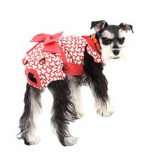 Martina Dog Sanitary Panty by Puppia - Red