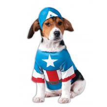 Marvel Captain America Dog Costume