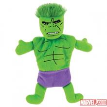 Marvel Flat Crinkle Dog Toy - Hulk