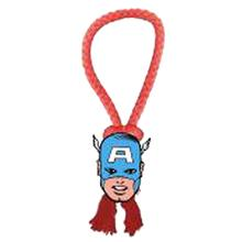 Marvel Rope Tug Dog Toy - Captain America