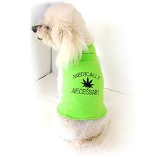 Medically Necessary Dog Tank by Daisy and Lucy - Lime Green
