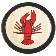 Melia Lobster Ceramic Pet Bowl - Red