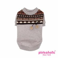 Mellow Dog Shirt by Pinkaholic - Brown