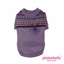 Mellow Dog Shirt by Pinkaholic - Violet