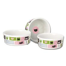 Meow Flair Cat Bowl - Pink