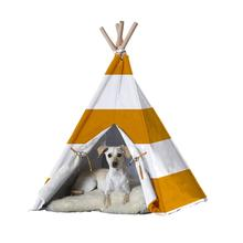 Merry Pet Teepee - Orange Stripes