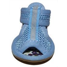 Mesh Dog Sandals - Blue