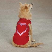 Metallic Foil Heart Dog Tank