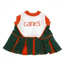 Miami Hurricanes Cheerleader Dog Dress - Canes