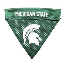 Michigan State Pink Dog Collar