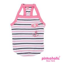 Middy Dog Tank Top by Pinkaholic - Pink